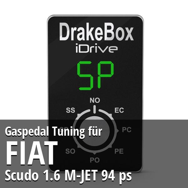 Gaspedal Tuning Fiat Scudo 1.6 M-JET 94 ps