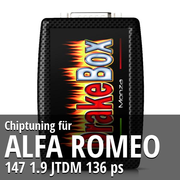 Chiptuning Alfa Romeo 147 1.9 JTDM 136 ps
