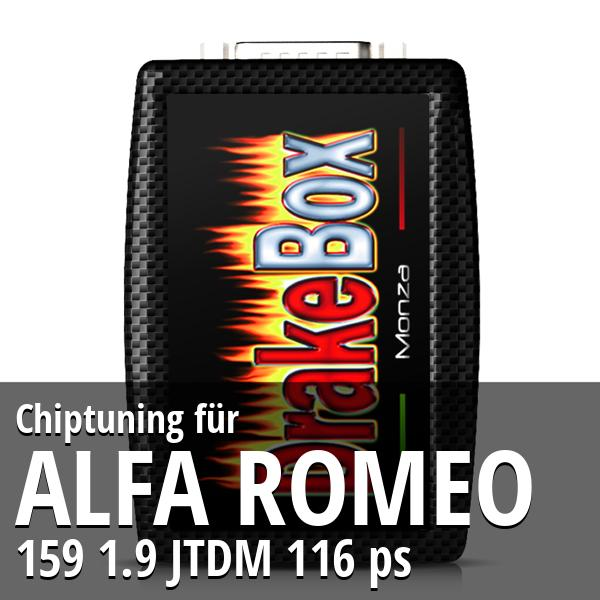 Chiptuning Alfa Romeo 159 1.9 JTDM 116 ps