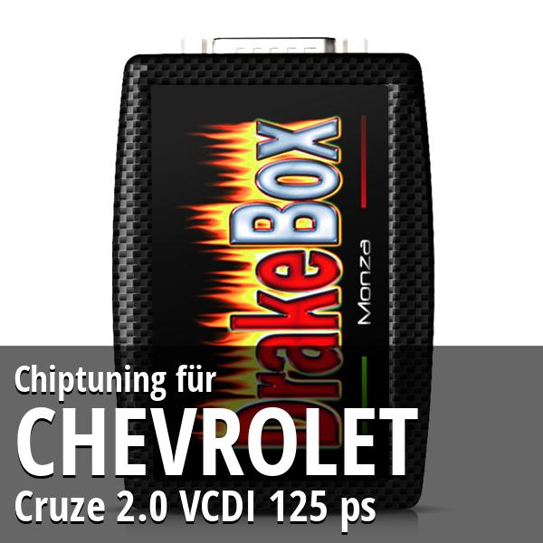 Chiptuning Chevrolet Cruze 2.0 VCDI 125 ps