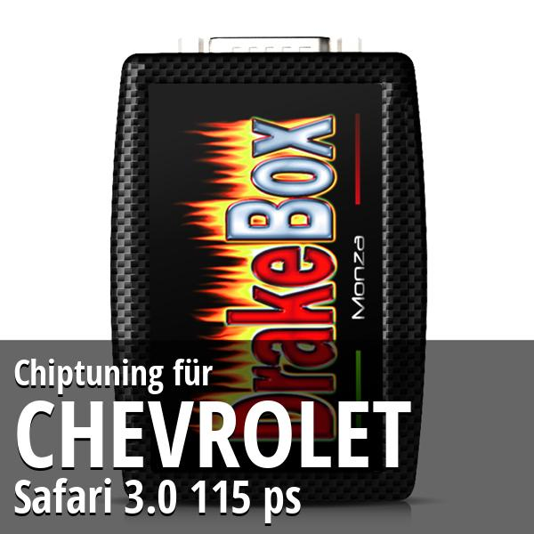 Chiptuning Chevrolet Safari 3.0 115 ps