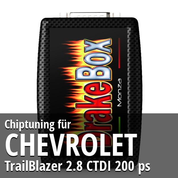Chiptuning Chevrolet TrailBlazer 2.8 CTDI 200 ps