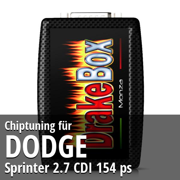 Chiptuning Dodge Sprinter 2.7 CDI 154 ps