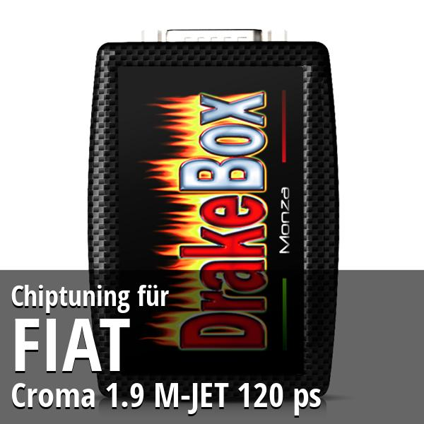 Chiptuning Fiat Croma 1.9 M-JET 120 ps