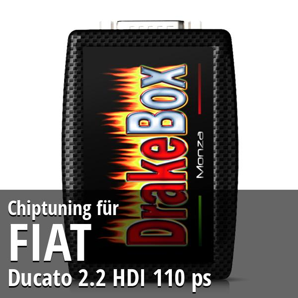 Chiptuning Fiat Ducato 2.2 HDI 110 ps