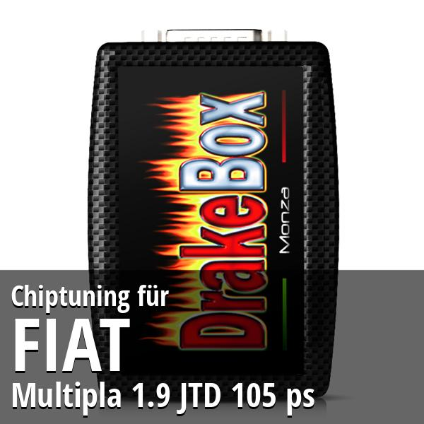 Chiptuning Fiat Multipla 1.9 JTD 105 ps