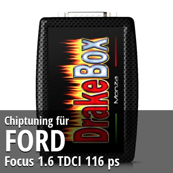 Chiptuning Ford Focus 1.6 TDCI 116 ps