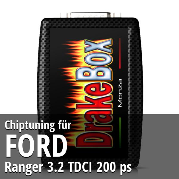Chiptuning Ford Ranger 3.2 TDCI 200 ps