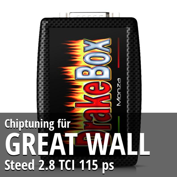 Chiptuning Great Wall Steed 2.8 TCI 115 ps