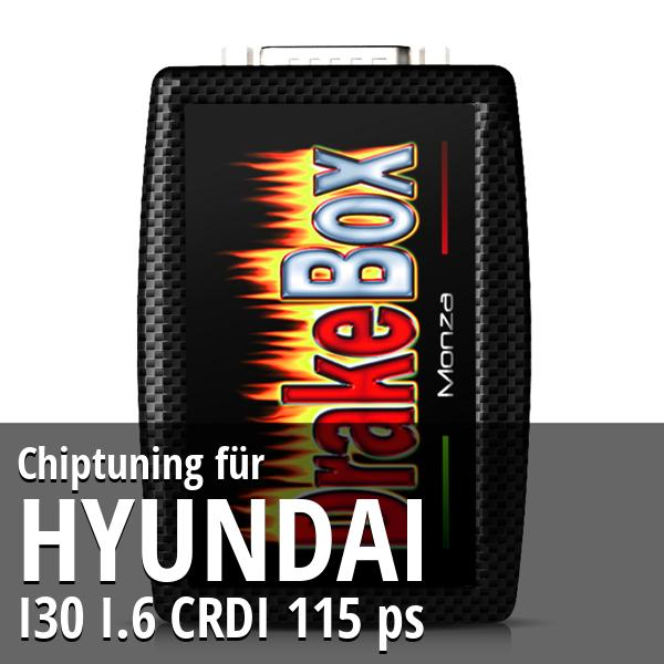 Chiptuning Hyundai I30 I.6 CRDI 115 ps