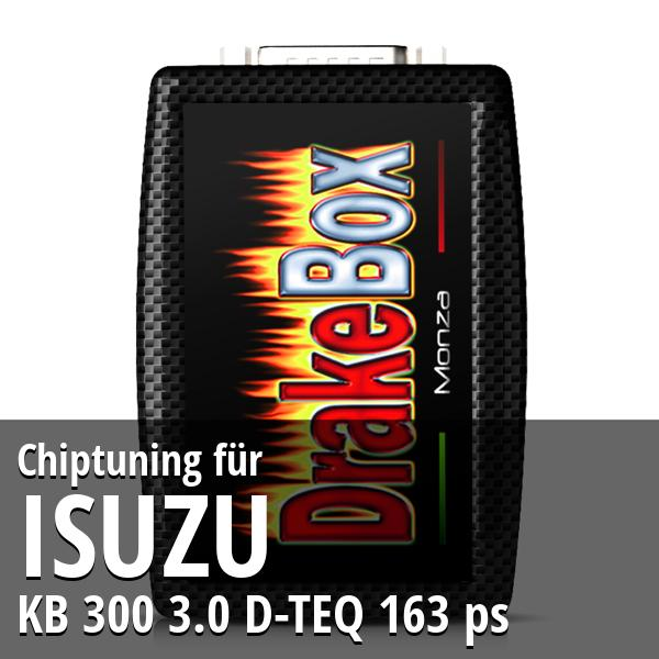 Chiptuning Isuzu KB 300 3.0 D-TEQ 163 ps