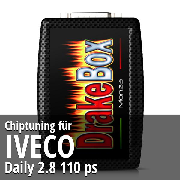 Chiptuning Iveco Daily 2.8 110 ps