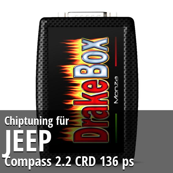 Chiptuning Jeep Compass 2.2 CRD 136 ps