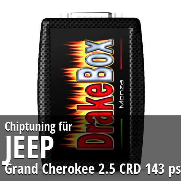 Chiptuning Jeep Grand Cherokee 2.5 CRD 143 ps