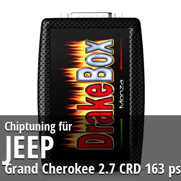 Chiptuning Jeep Grand Cherokee 2.7 CRD 163 ps