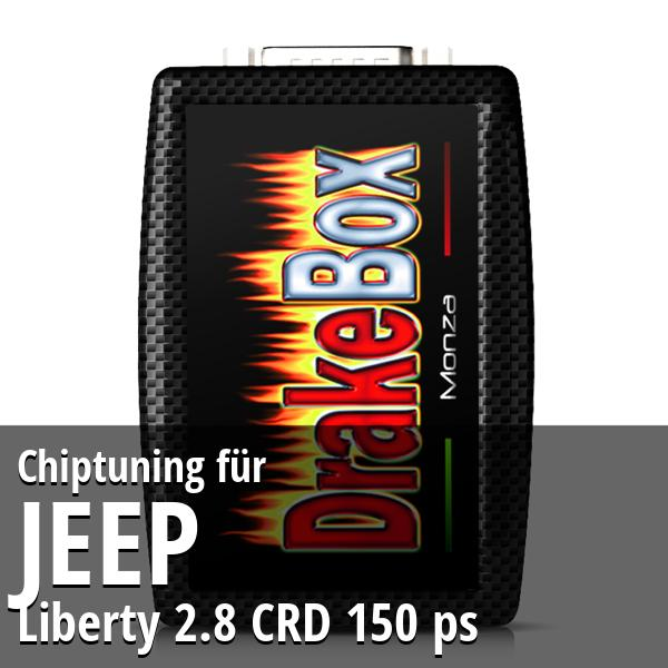 Chiptuning Jeep Liberty 2.8 CRD 150 ps