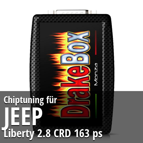 Chiptuning Jeep Liberty 2.8 CRD 163 ps