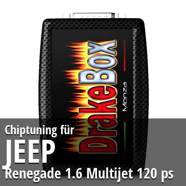 Chiptuning Jeep Renegade 1.6 Multijet 120 ps