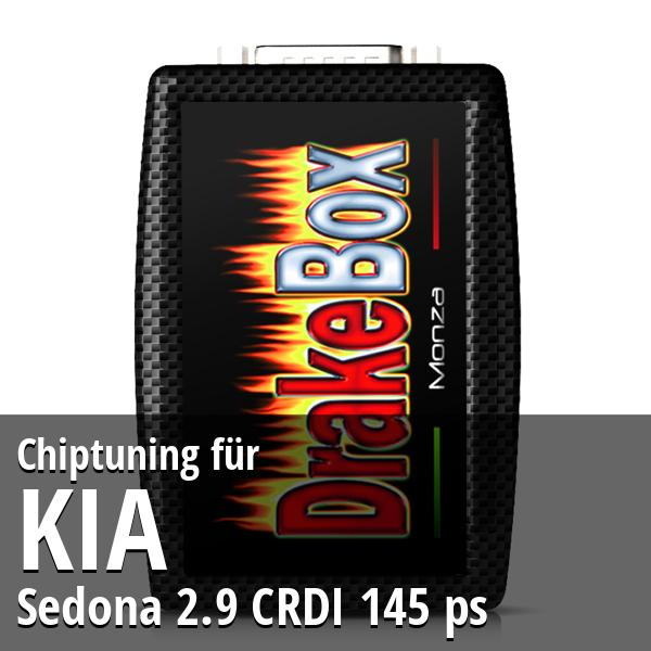 Chiptuning Kia Sedona 2.9 CRDI 145 ps