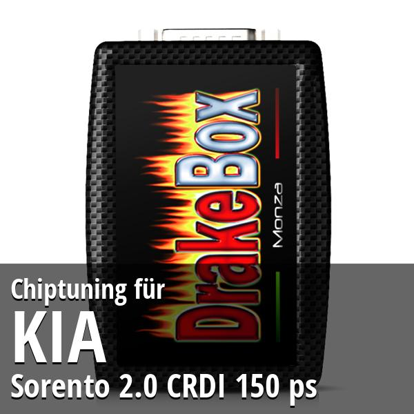 Chiptuning Kia Sorento 2.0 CRDI 150 ps