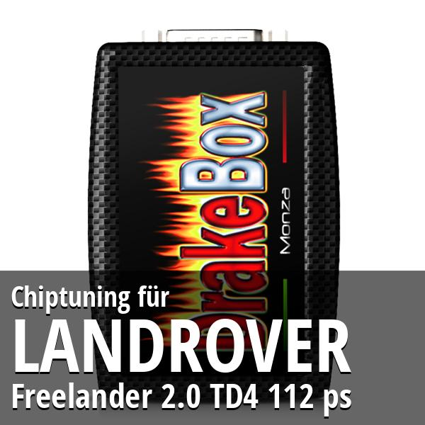 Chiptuning Landrover Freelander 2.0 TD4 112 ps