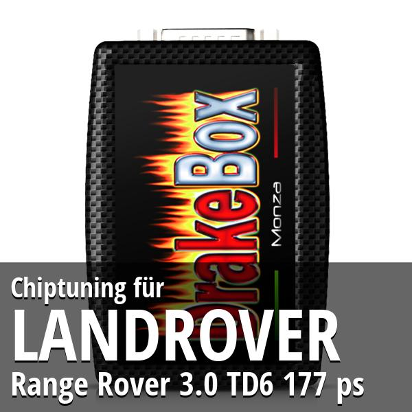 Chiptuning Landrover Range Rover 3.0 TD6 177 ps