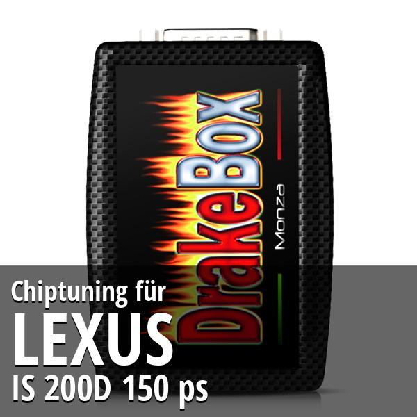 Chiptuning Lexus IS 200D 150 ps