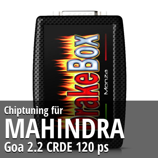 Chiptuning Mahindra Goa 2.2 CRDE 120 ps