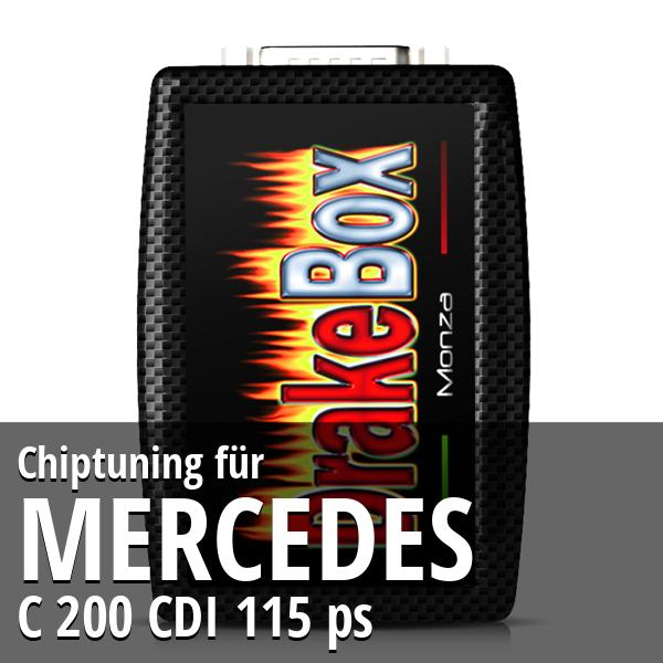 Chiptuning Mercedes C 200 CDI 115 ps