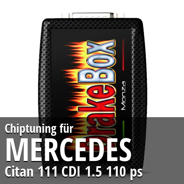 Chiptuning Mercedes Citan 111 CDI 1.5 110 ps