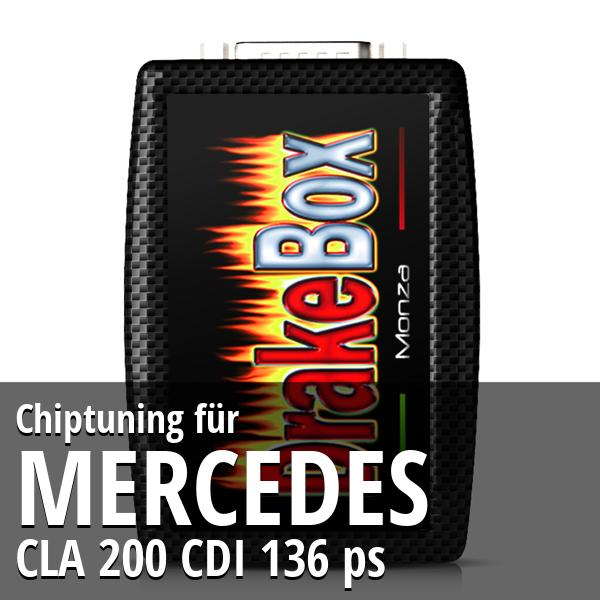 Chiptuning Mercedes CLA 200 CDI 136 ps