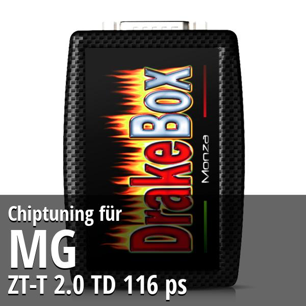 Chiptuning Mg ZT-T 2.0 TD 116 ps