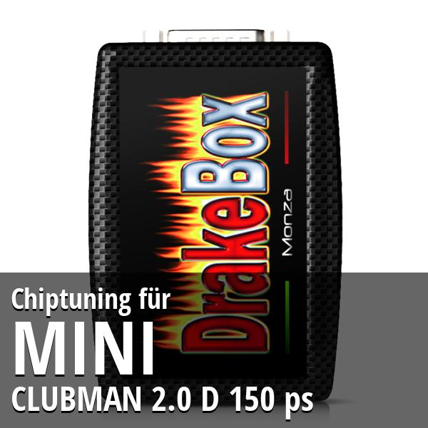 Chiptuning Mini CLUBMAN 2.0 D 150 ps
