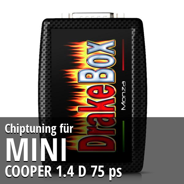 Chiptuning Mini COOPER 1.4 D 75 ps