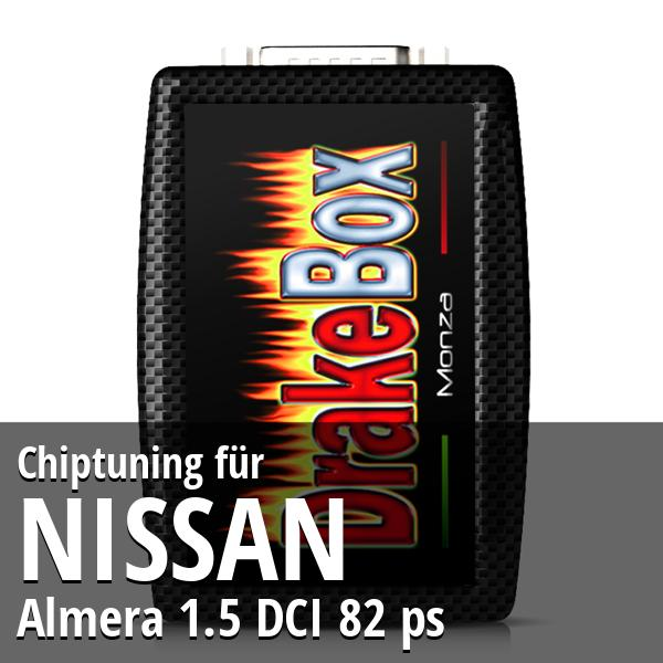 Chiptuning Nissan Almera 1.5 DCI 82 ps