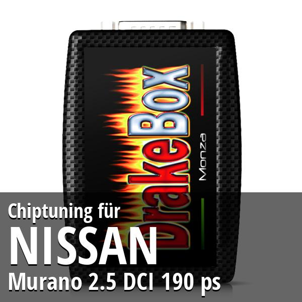 Chiptuning Nissan Murano 2.5 DCI 190 ps