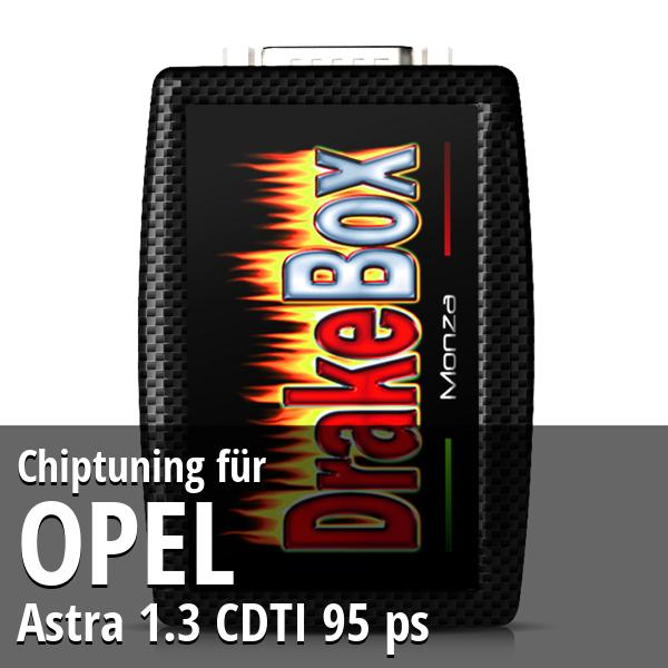 Chiptuning Opel Astra 1.3 CDTI 95 ps