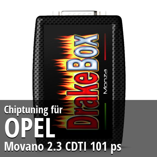 Chiptuning Opel Movano 2.3 CDTI 101 ps
