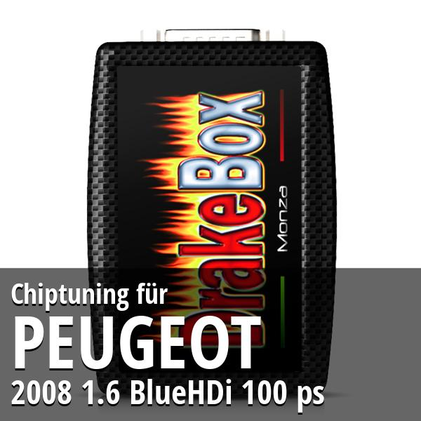 Chiptuning Peugeot 2008 1.6 BlueHDi 100 ps