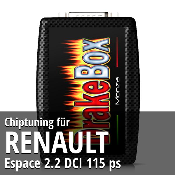 Chiptuning Renault Espace 2.2 DCI 115 ps