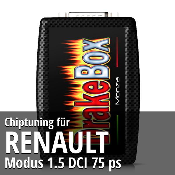 Chiptuning Renault Modus 1.5 DCI 75 ps