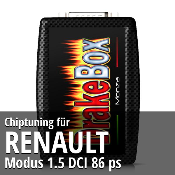 Chiptuning Renault Modus 1.5 DCI 86 ps