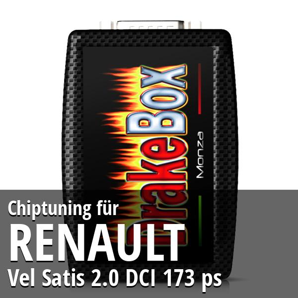 Chiptuning Renault Vel Satis 2.0 DCI 173 ps