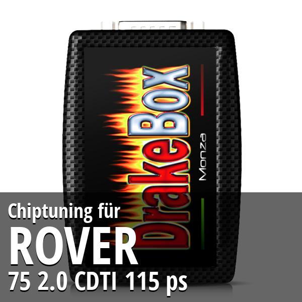 Chiptuning Rover 75 2.0 CDTI 115 ps