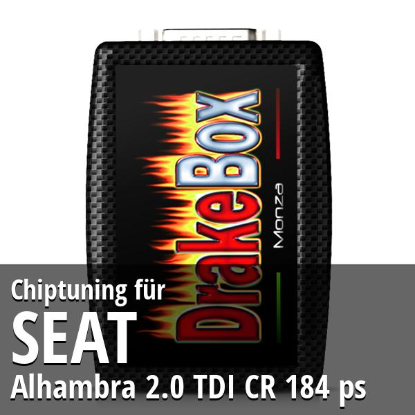 Chiptuning Seat Alhambra 2.0 TDI CR 184 ps