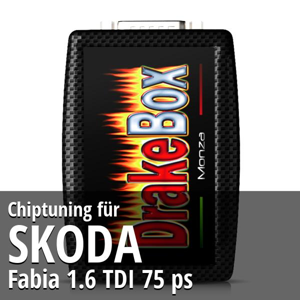 Chiptuning Skoda Fabia 1.6 TDI 75 ps