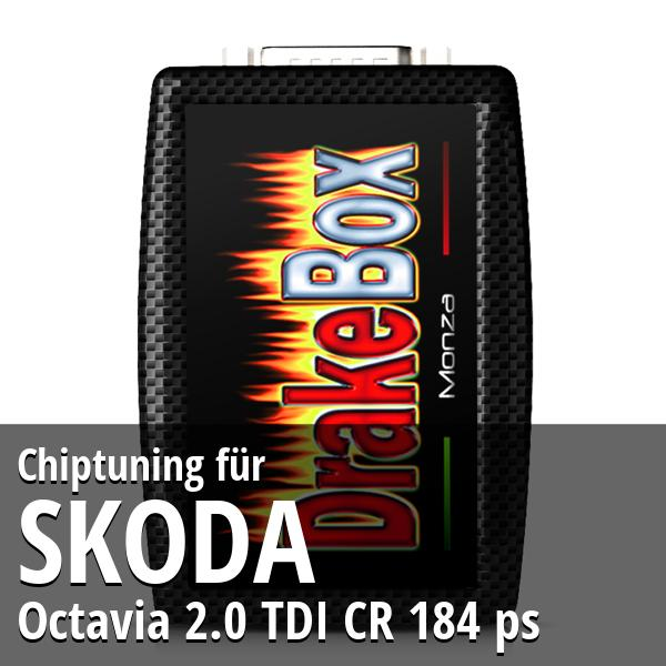 Chiptuning Skoda Octavia 2.0 TDI CR 184 ps