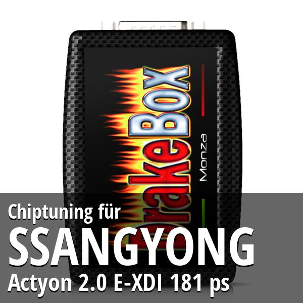 Chiptuning Ssangyong Actyon 2.0 E-XDI 181 ps