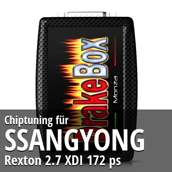Chiptuning Ssangyong Rexton 2.7 XDI 172 ps