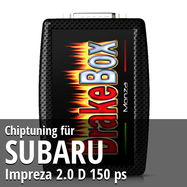 Chiptuning Subaru Impreza 2.0 D 150 ps